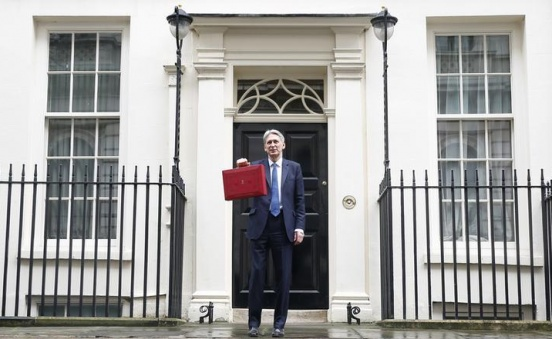 Higher UK borrowing underscores budget headache for Hammond