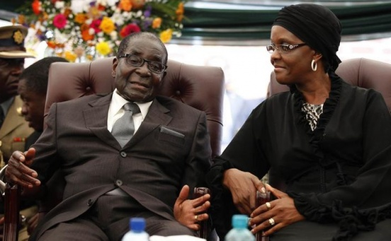Mugabe granted immunity, assured of safety in Zimbabwe - sources