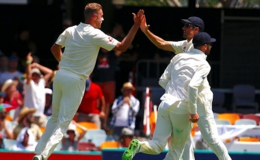 England tear through Australia's top order in Ashes series-opener