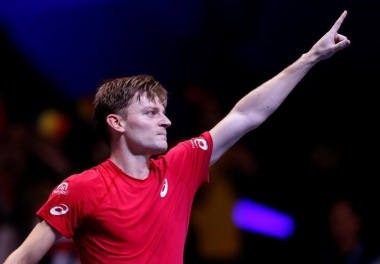 Belgium's Davis Cup hopes boosted as Goffin shines