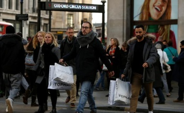 UK inflation hits highest in nearly six years, peak seen soon