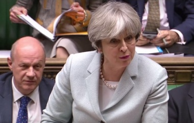 May pitches Brexit transition to parliament