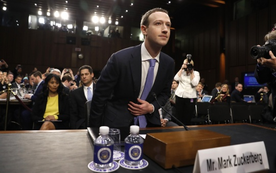 Zuckerberg testifies before Congress