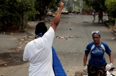At least nine dead in Nicaragua protests, U.S. curbs embassy