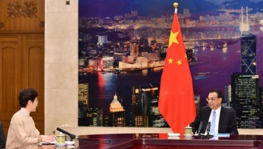 Chinese premier says Hong Kong not out of its 'dilemma'