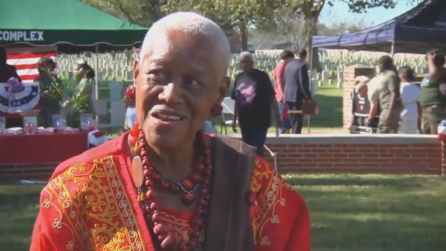 Police in Louisiana are investigating the presumed slaying of prominent civil rights activist and historian Sadie Roberts-Joseph after her body was found in the trunk of her car. Linda So reports.