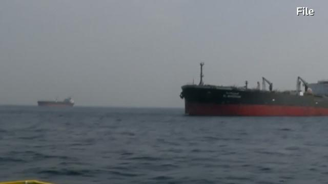 Iran's Revolutionary Guards has seized a foreign ship smuggling fuel in the Gulf, state television quoted Iran's elite force as saying in a statement on Thursday. Havovi Cooper reports.