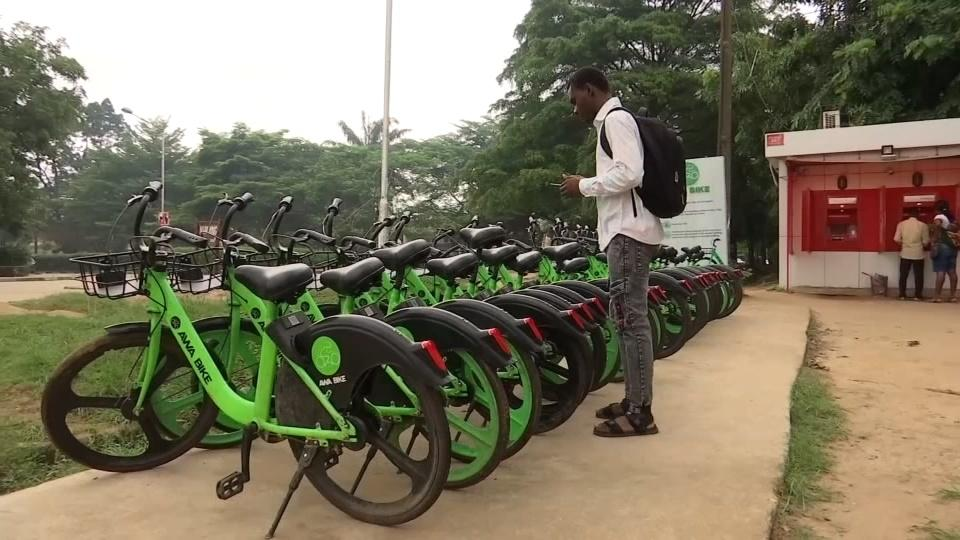 Entrepreneur brings rent-a-bike app to Lagos | Reuters Video