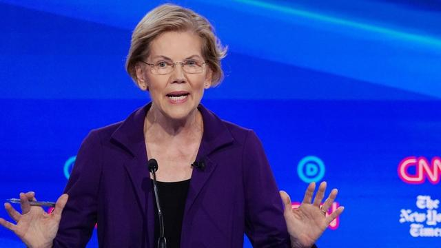 Surging U.S. Democratic presidential contender Elizabeth Warren came under repeated attack on her healthcare and tax policies in a debate on Tuesday, as moderate rivals pushed her to explain how she would pay for ambitious proposals including her Medicare for All plan.