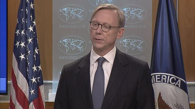 Threats made by Iran will only further isolate the country, the U.S. Department of State's special representative for Iran Brian Hook said on Friday after Tehran's supreme leader Ayatollah Ali Khamenei said its fight could move beyond its borders.