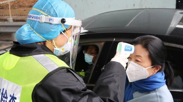 The number of new coronavirus cases in China fell on Sunday and a health official said intense efforts to stop its spread were beginning to work, as another 70 people tested positive on a virus-stricken cruise ship quarantined in Japan.