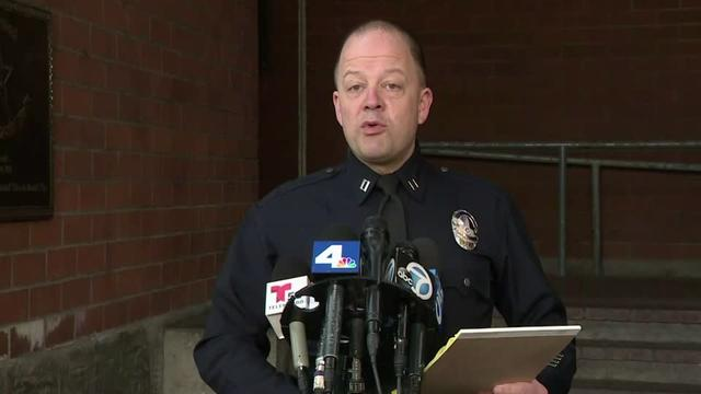 Los Angeles police captain Steve Lurie said police responded to an emergency call at a Hollywood Hills home shortly before five o'clock in the morning on Thursday.