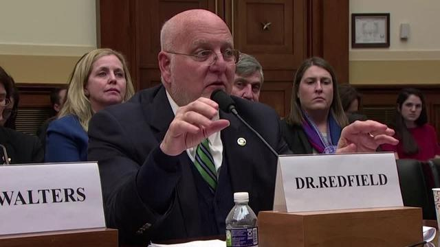U.S. Center for Disease Control and Prevention (CDC) director Robert Redfield spoke to Congress about the coronavirus threat on Thursday (February 27), saying that his agency is aggressively evaluating how long the virus can survive on surfaces.