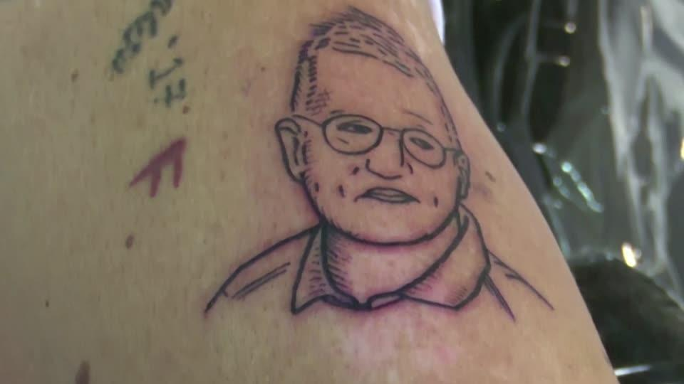 Fan Of Sweden S Chief Epidemiologist Gets A Tattoo Of His Face Reuters Video