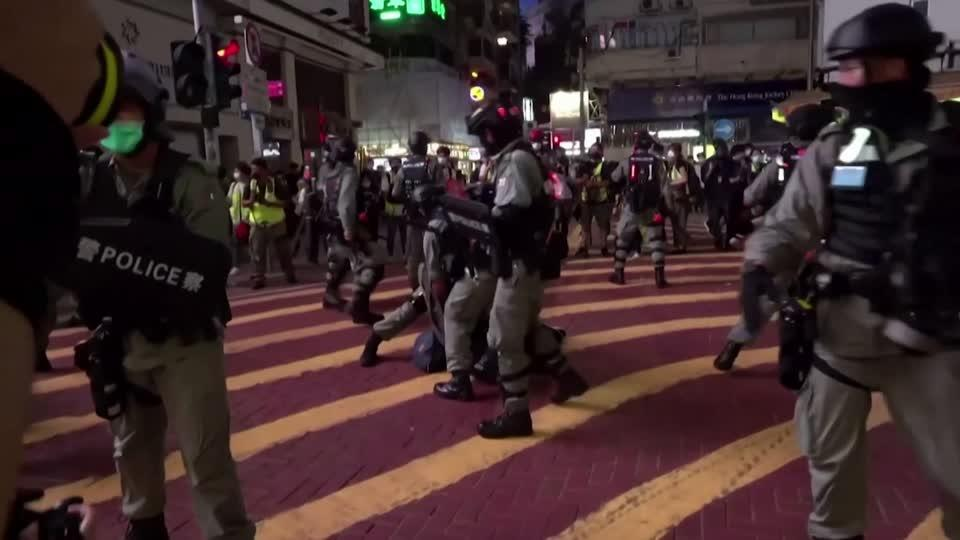 Hundreds arrested in Hong Kong protests | Reuters Video