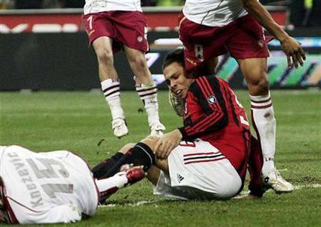 Milan S Ronaldo Suffers Serious Knee Injury