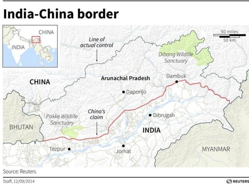 With eye on China, India to develop disputed border region | Reuters