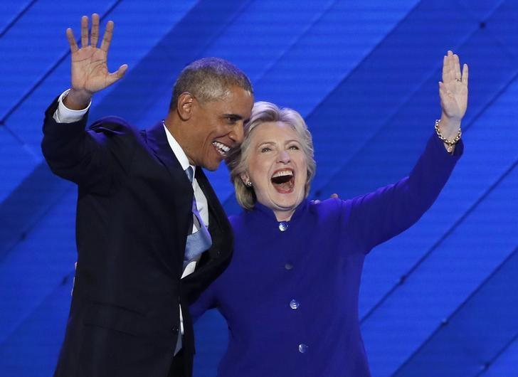 Trump calls Obama, Clinton Islamic State 'co-founders,' draws rebuke | Reuters