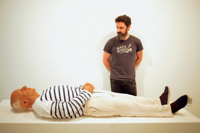 Eerie model of Picasso's corpse lies in Spanish birthplace