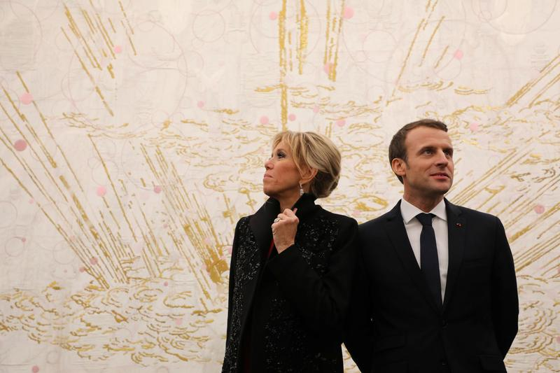 Brigitte Biography Says Young Macron Wrote Steamy Book About Their Romance Reuters