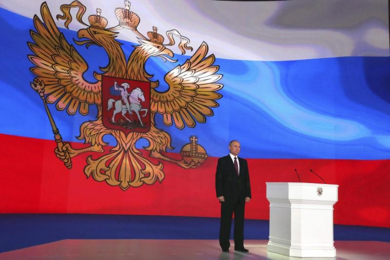Putin Before Vote Says He D Reverse Soviet Collapse If He Could Agencies Reuters