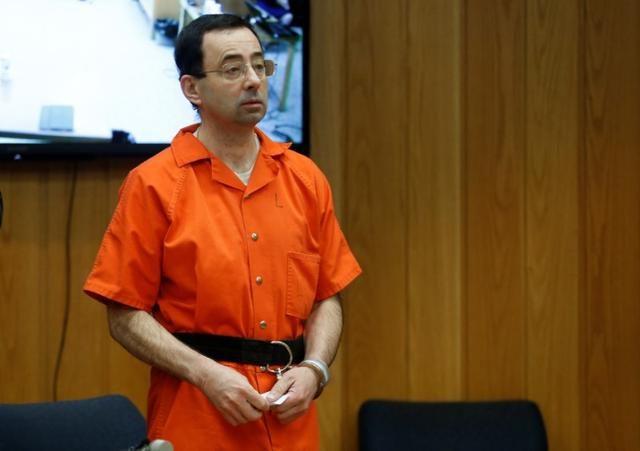 FILE PHOTO: Larry Nassar, a former team USA Gymnastics doctor who pleaded  guilty in