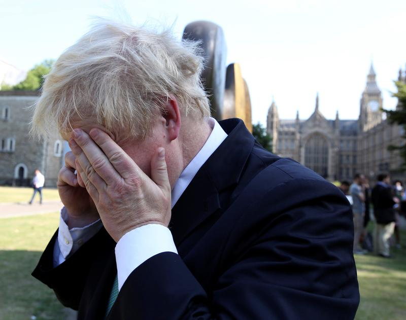 Yerevan calling? UK's Johnson discusses Russia with hoax caller | Reuters