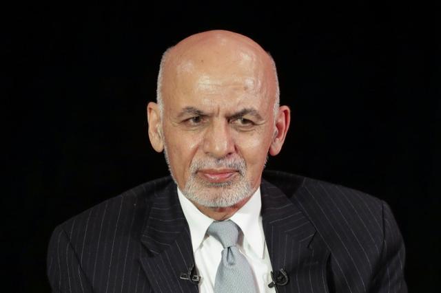 El presidente afgano, Ashraf Ghani, asiste a una mesa redonda en Asia Society en Manhattan, Nueva York, EE. UU., El 20 de septiembre de 2017. REUTERS / Jeenah Moon