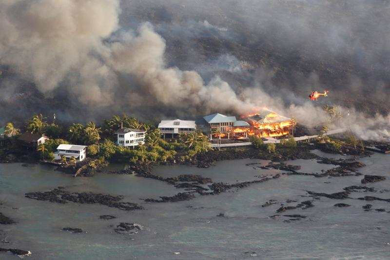 Rivers of lava destroy 600 homes on Hawaii's Big Island: mayor | Reuters