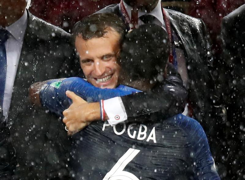 Macron Can Bless His Lucky Stars Again As Les Bleus Win World Cup Reuters