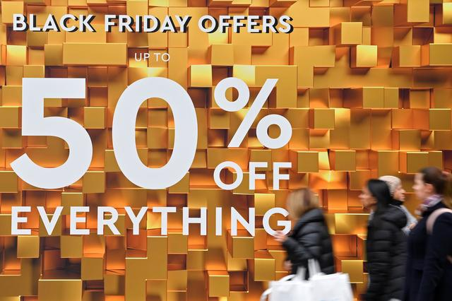 Uk Black Friday Sales Down Year On Year Data Shows
