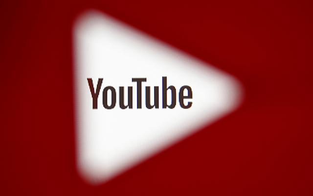 file photo a 3d printed youtube icon is seen in front of a displayed