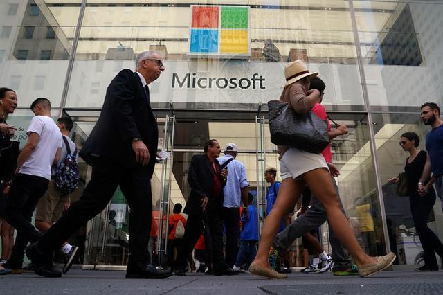 Imagen de archivo de una tienda de Microsoft en Nueva York, EEUU. 21 agosto 2018. REUTERS/Carlo Allegri
