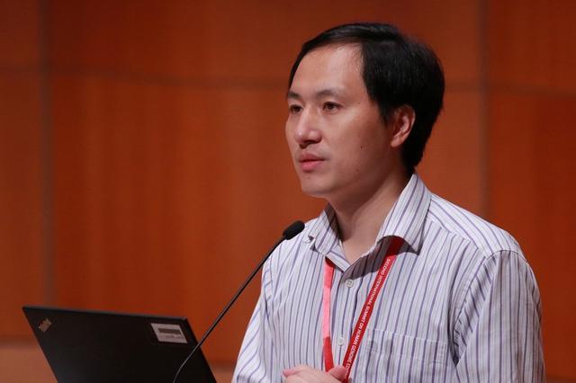 El científico He Jiankui en una cumbre en Hong Kong. 28 de noviembre de 2018. REUTERS/Stringer