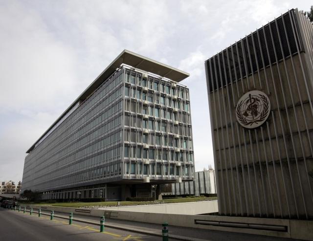 La sede de la Organización Mundial de la Salud (OMS) en Ginebra, nov 9, 2009. REUTERS/Denis Balibouse