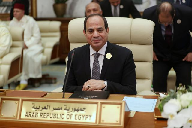 FILE PHOTO: Egyptian President Abdel Fattah al-Sisi attends the Arab summit in Mecca, Saudi Arabia, May 31, 2019. REUTERS/Hamad l Mohammed/File Photo
