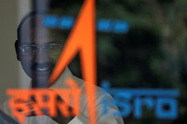 Kailasavadivoo Sivan, chairperson of the Indian Space Research Organization (ISRO), arrives to attend a news conference at its headquarters in Bengaluru, India, June 12, 2019. REUTERS/Francis Mascarenhas