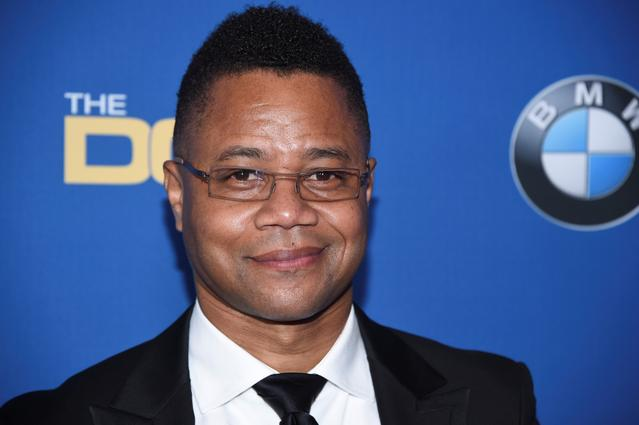 FILE PHOTO: Cuba Gooding Jr. attends the 69th annual DGA Awards in Beverly Hills, California, U.S., February 4, 2017. REUTERS/Phil McCarten