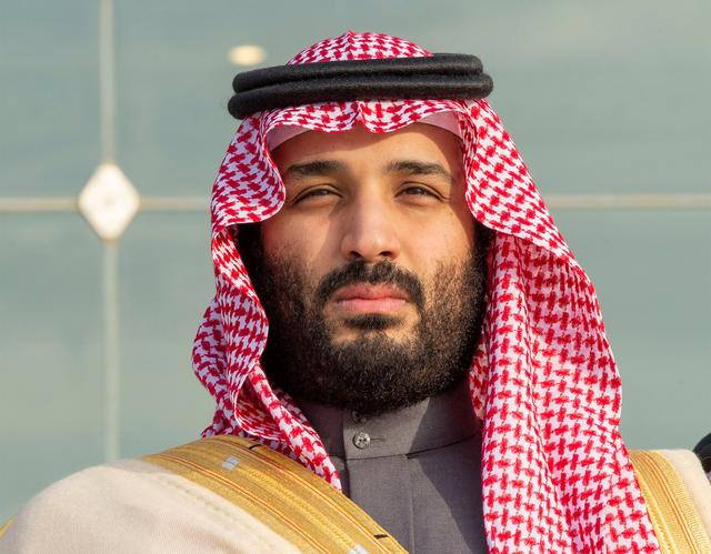 FILE PHOTO: Saudi Arabia's Crown Prince Mohammed bin Salman attends a graduation ceremony for the 95th batch of cadets from the King Faisal Air Academy in Riyadh, Saudi Arabia December 23, 2018. Bandar Algaloud/Courtesy of Saudi Royal Court/Handout via REUTERS/File Photo
