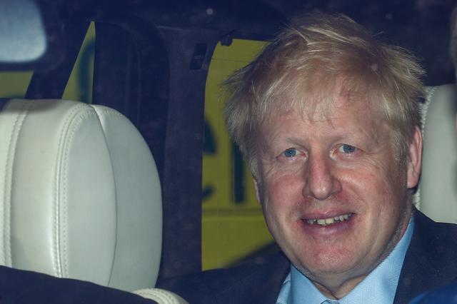 PM hopeful Boris Johnson arrives at the Parliament in London, Britain, June 17, 2019. REUTERS/Hannah Mckay