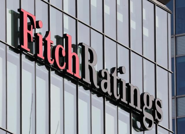 Foto de archivo del logo de Fitch Ratings en sus oficinas en Londres. Mar 3, 2016.  REUTERS/Reinhard Krause/File Photo