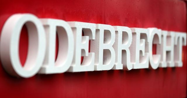 Foto de archivo del logo de Odebrecht SA en las oficinas de la empresa en Sao Paulo.  Ago 3, 2018.  REUTERS/Paulo Whitaker