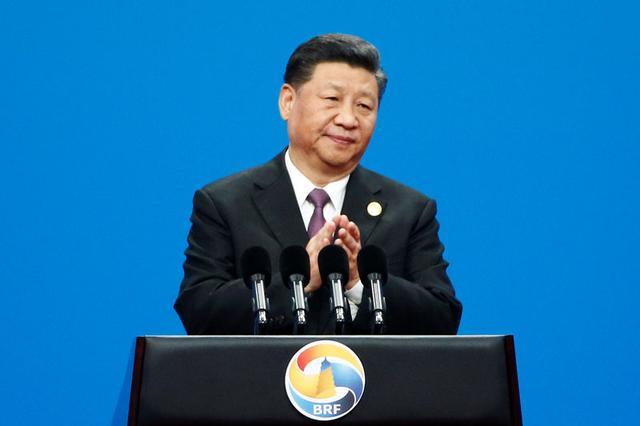 Imagen de archivo del presidente de China, Xi Jinping, durante la ceremonia inaugural del segundo Foro de la Franja y la Ruta en Pekín, China. 26 de abril, 2019.  REUTERS/Florence Lo