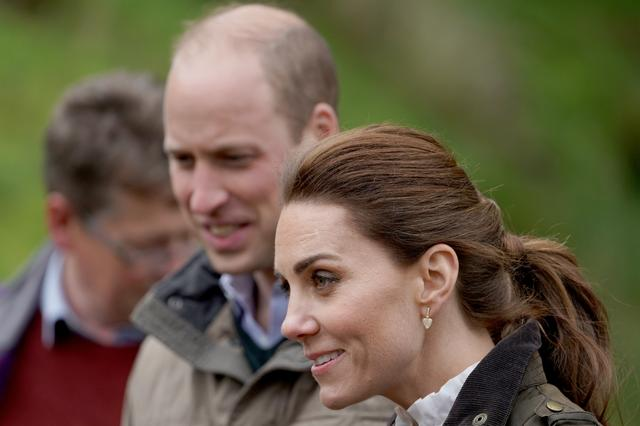 FILE PHOTO: Britain's Prince William and Catherine, Duchess of Cambridge, visit Deepdale Hall Farm, a traditional fell sheep farm, in Patterdale, Cumbria county, Britain June 11, 2019. Owen Humphreys/Pool via REUTERS