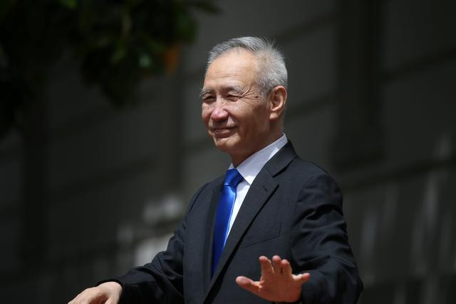 China's Vice Premier Liu He exits the office of the U.S. Trade Representative following a morning round of negotiations on the second day of last ditch trade talks in Washington, U.S., May 10, 2019. REUTERS/Leah Millis