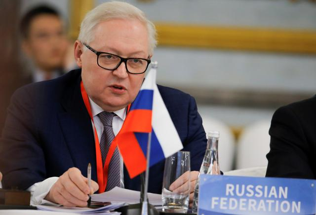 FILE PHOTO: Russian Deputy Foreign Minister and head of delegation Sergey Ryabkov attend a Treaty on the Non-Proliferation of Nuclear Weapons (NPT) conference in Beijing of the UN Security Council's five permanent members (P5) China, France, Russia, the United Kingdom, and the United States, China, January 30, 2019.   REUTERS/Thomas Peter/Pool