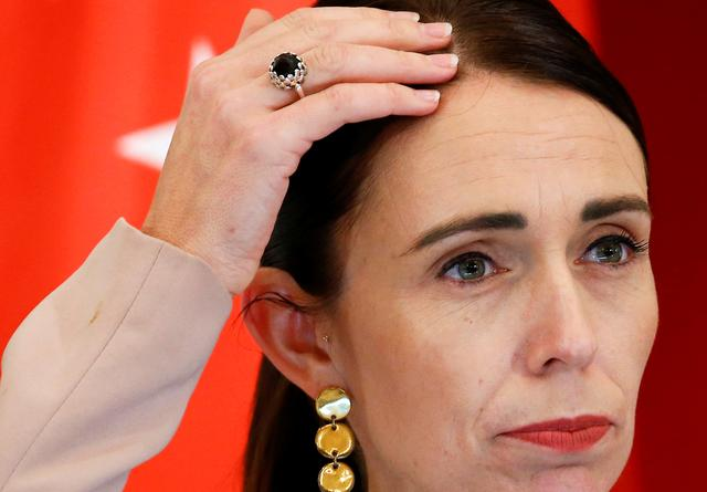 FILE PHOTO: New Zealand's Prime Minister Jacinda Ardern is seen at the Istana in Singapore, May 17, 2019. REUTERS/Feline Lim