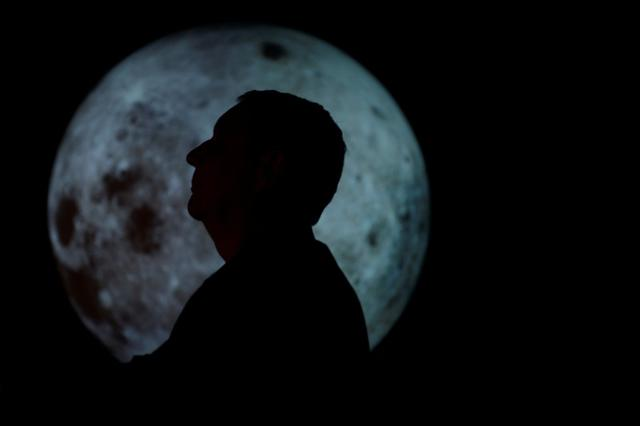 University of Colorado Boulder director of NASA/NLSI Lunar University Network for Astrophysics Research Jack Burns, who is working with NASA to put telescopes on the moon by using telerobotic technology, stands for a portrait at the Fiske Planetarium in Boulder, Colorado, U.S., June 24, 2019.  REUTERS/Michael Ciaglo