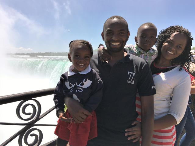 Undated photograph shows Paul Njoroge with his wife Carolyne, alongside children Kelli and Ryan who died in the Ethiopian Airlines flight ET 302 plane crash at an undisclosed location in this photograph released on July 16, 2019 by Clifford Law via REUTERS