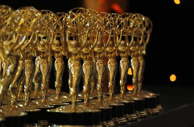 Las estatuillas entregadas como reconocimiento en los Premios Emmy en la versión número 70 en Los Ángeles, California. 17 de septiembre de 2018. REUTERS/Mike Blake.